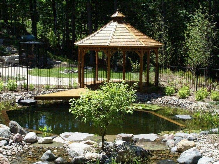 Kindersicherheit Gewahrleisten Den Teich Einzaunen Jardin Pond
