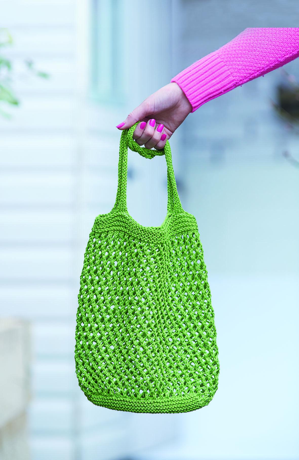 Heft: 16 Retro Einkaufsnetz #SimpleStylishStricken #DIY ...