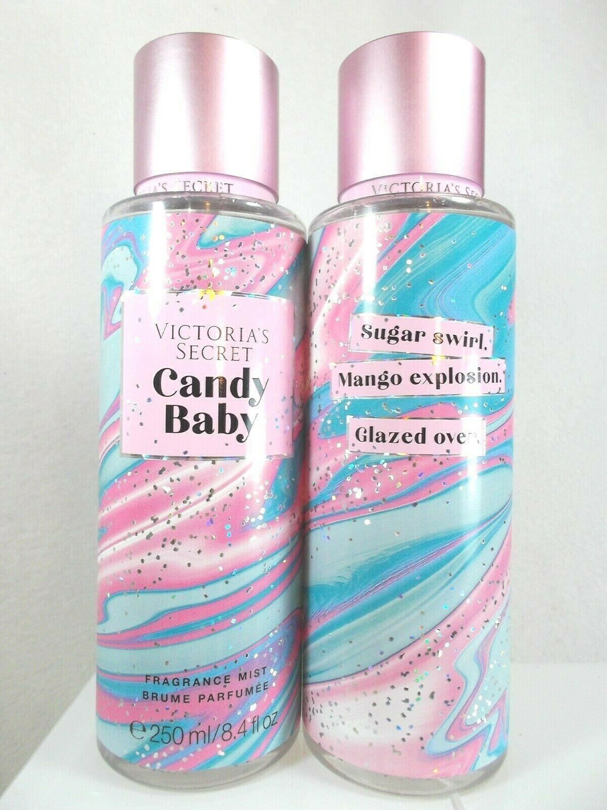 2 Victoria S Secret Candy Baby Fragrance Mist 8 4 Oz Perfume Body
