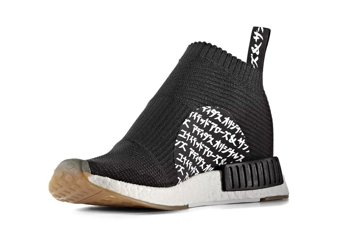 uniti frecce & sons x mikitype x adidas originali nmd city.