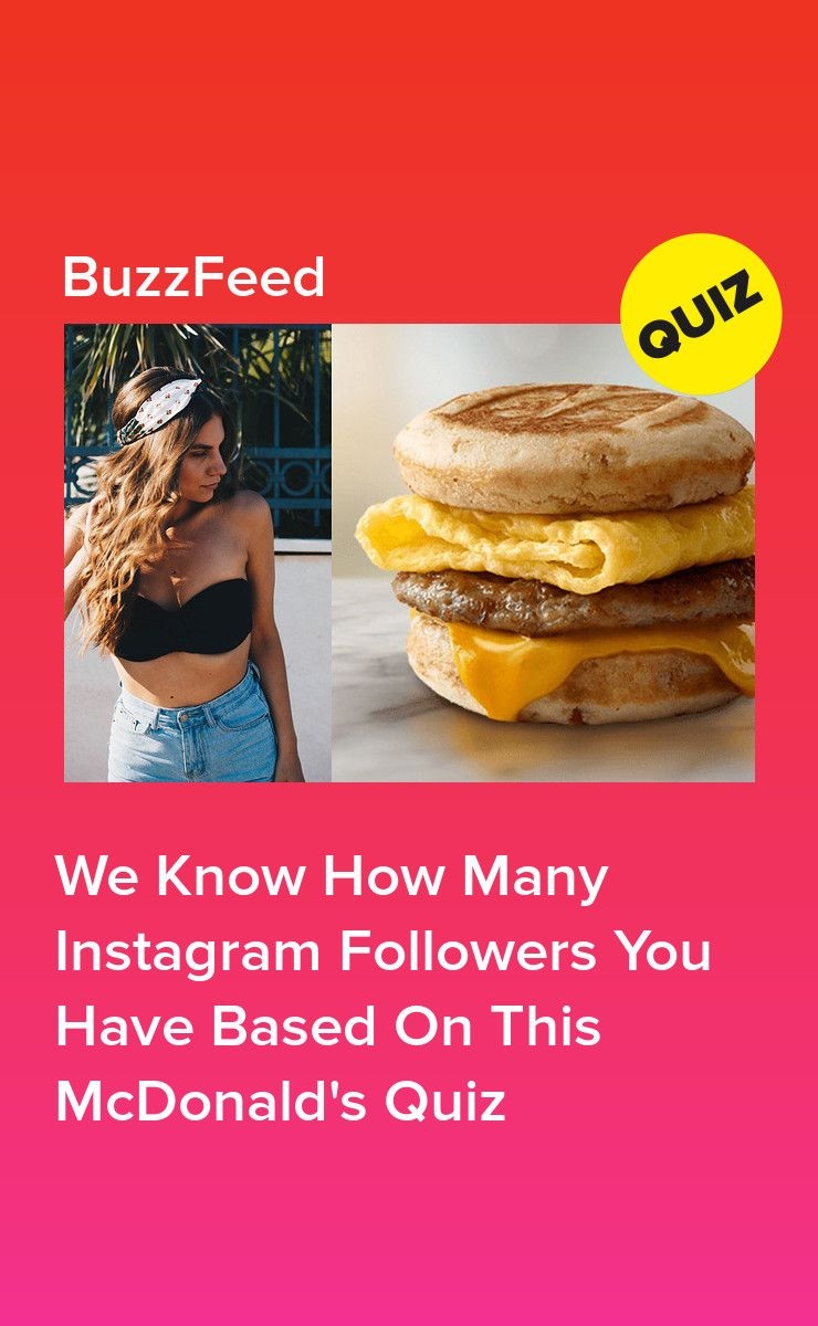 We Know How Many Instagram Followers You Have Based On This