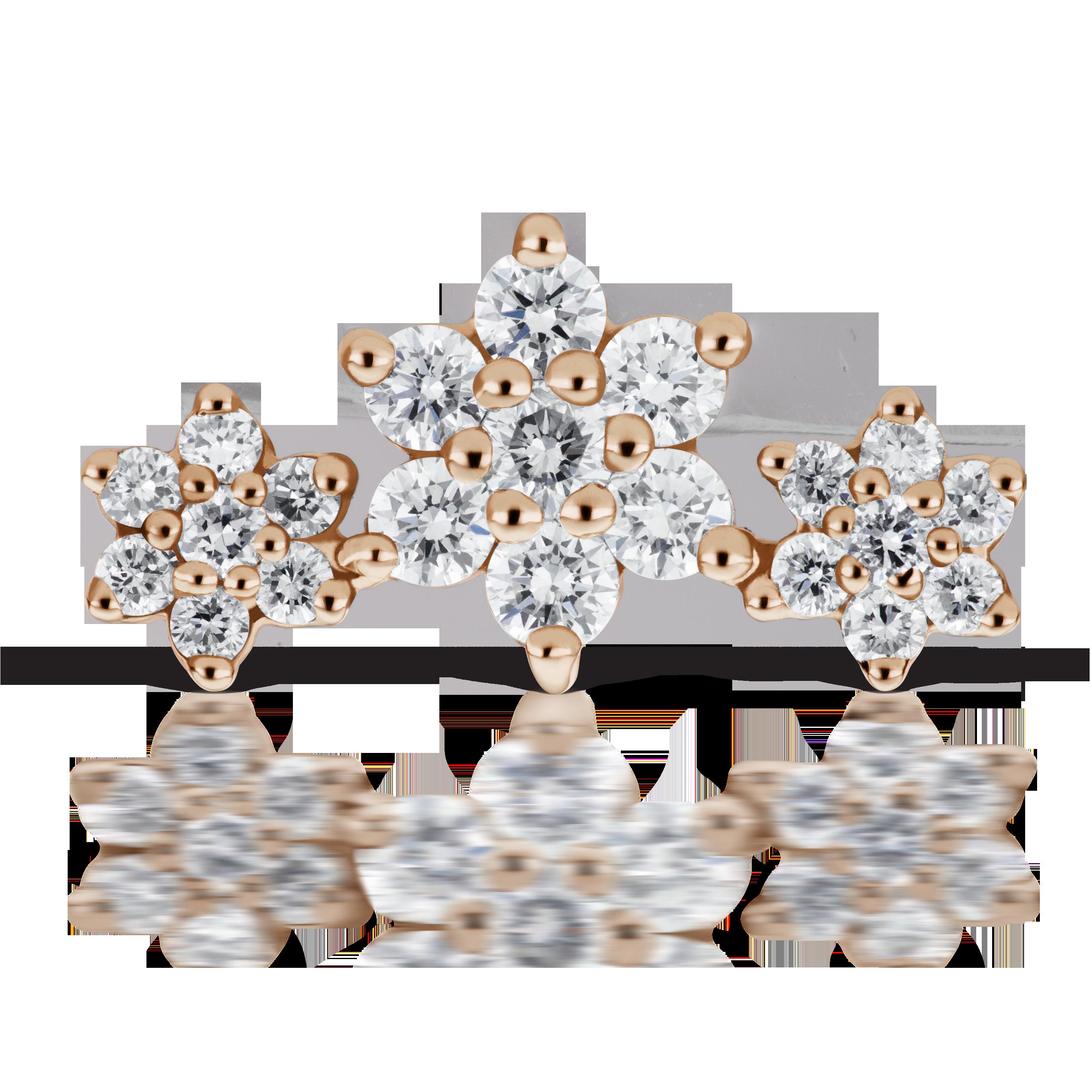 Diamond Flower Garland Rook Jewelry Pinterest