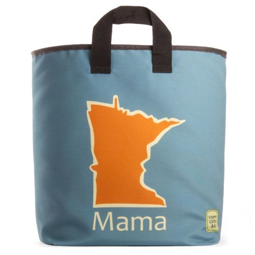 Minnesota Mama Grocery Bag on sale for the holidays.  Made eco-friendly in Minneapolis Minnesota. #ecofriendly #americanmade #shoplocal