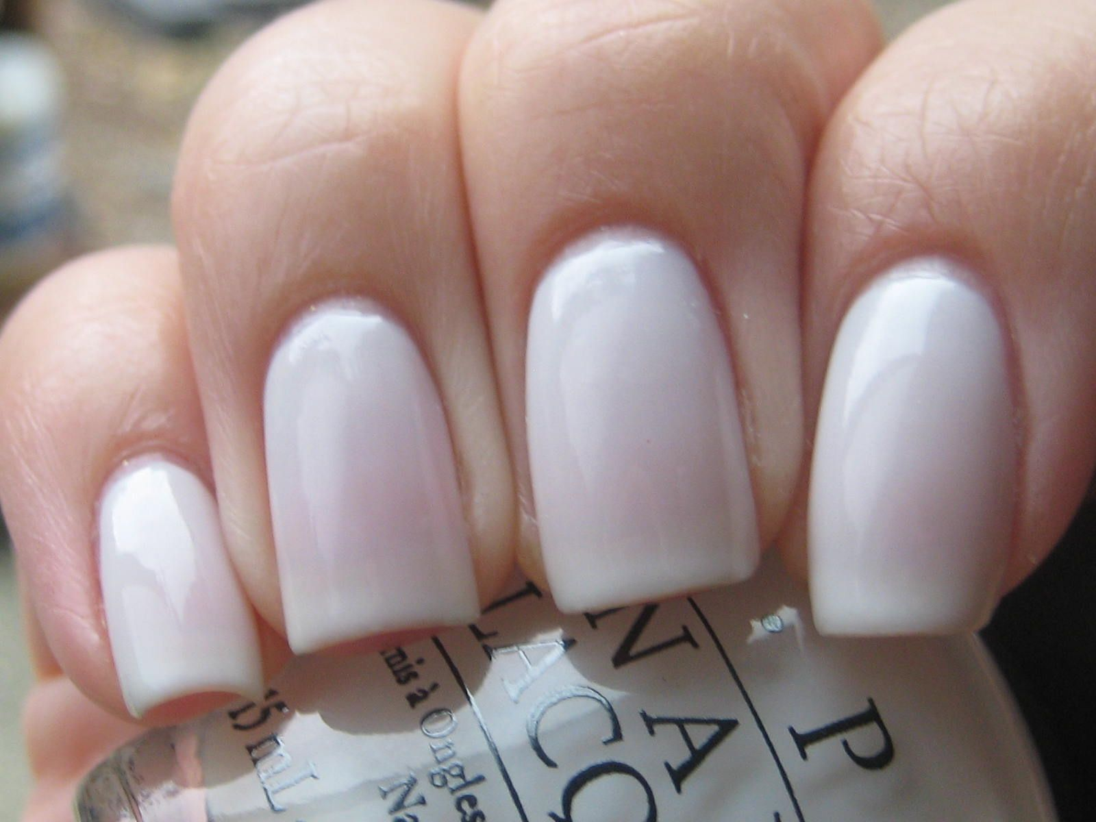 OPI Funny Bunny - Sheer White My favorite nail polish of all time ...