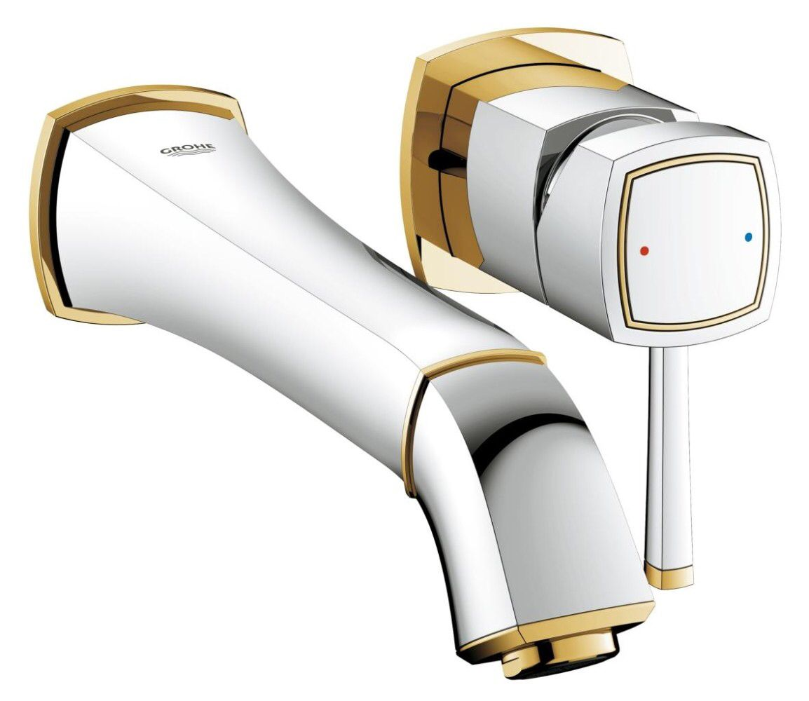 GROHE Grandera 2-hole mixer mixes tradition with modern glamour ...