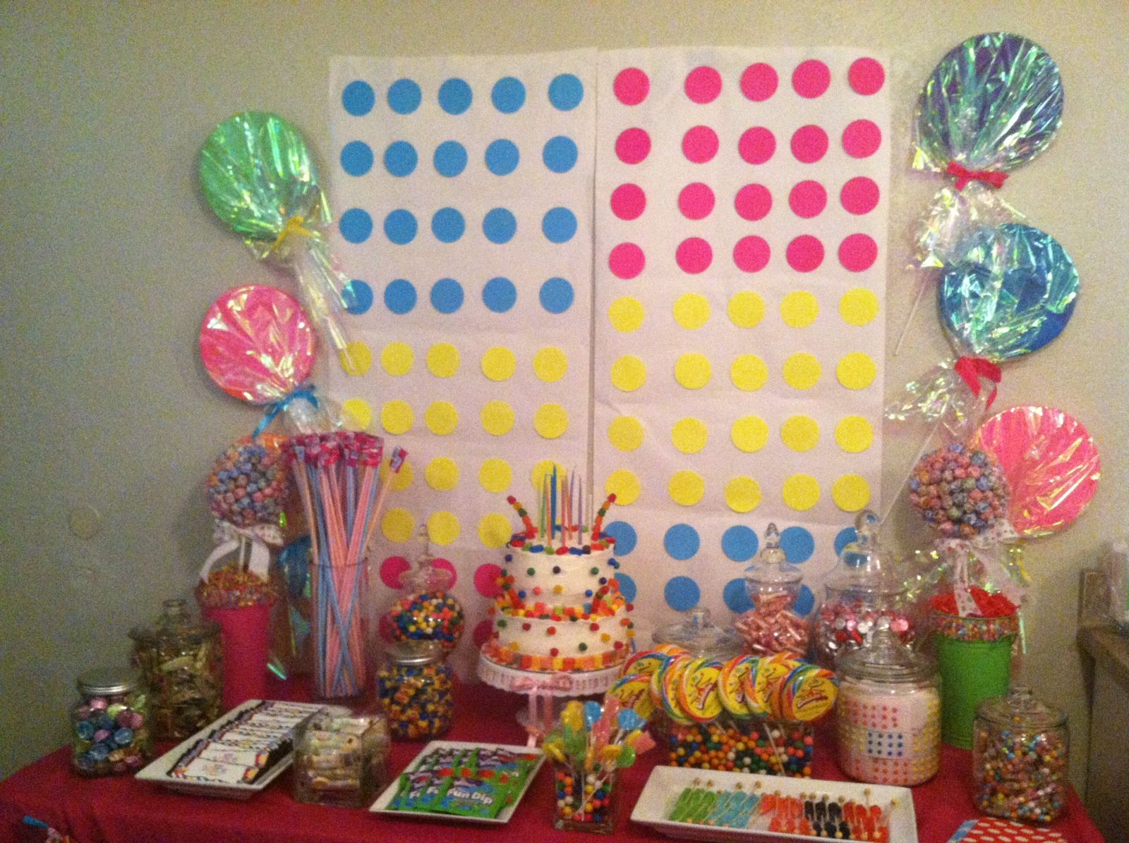 Candyland Candy Buffet Candy Buffet Party Candy Themed Party