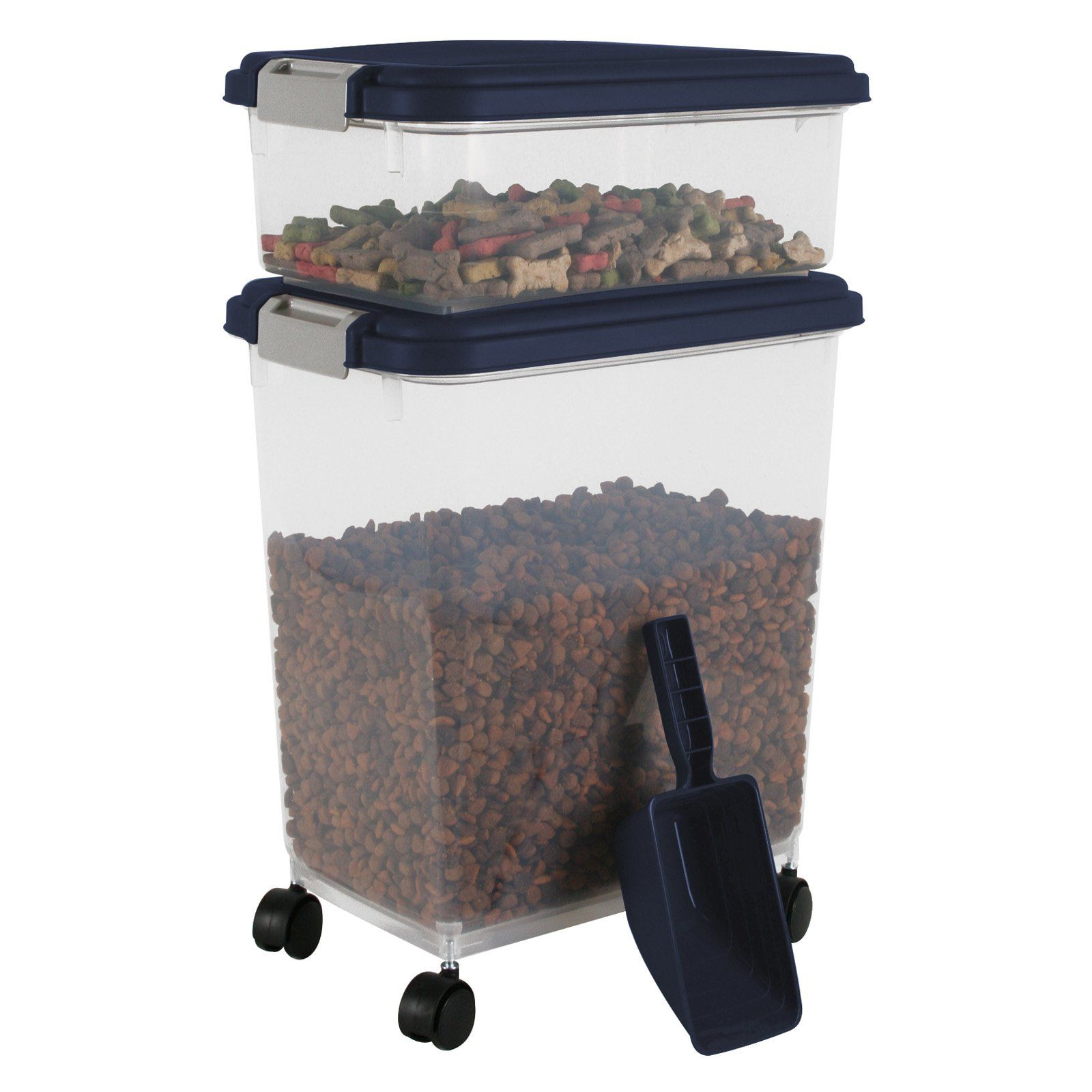 IRIS 3pc Airtight Pet Food Container Combo   301121