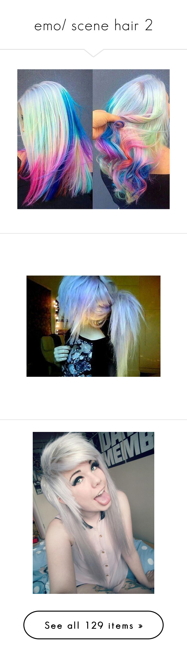 Emo scene hair