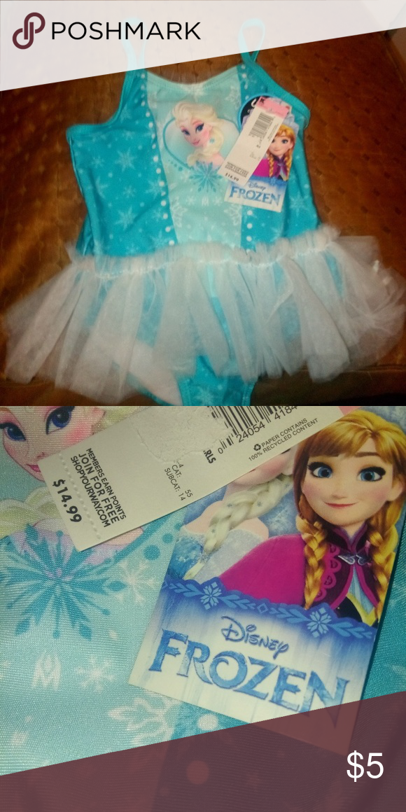 82303adac6 Spotted while shopping on Poshmark: Disney Ftozen Swim Suit 2T! #poshmark  #fashion #shopping #style #Disney #Other