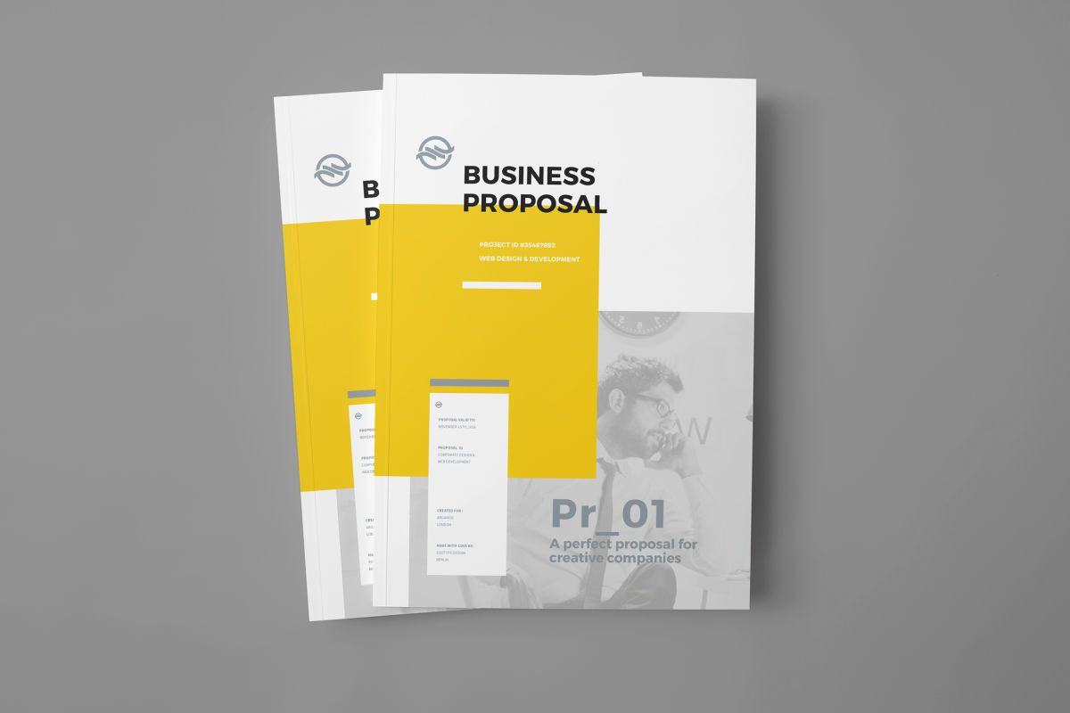Download Proposal Graphic Templates By Egotype Subscribe To