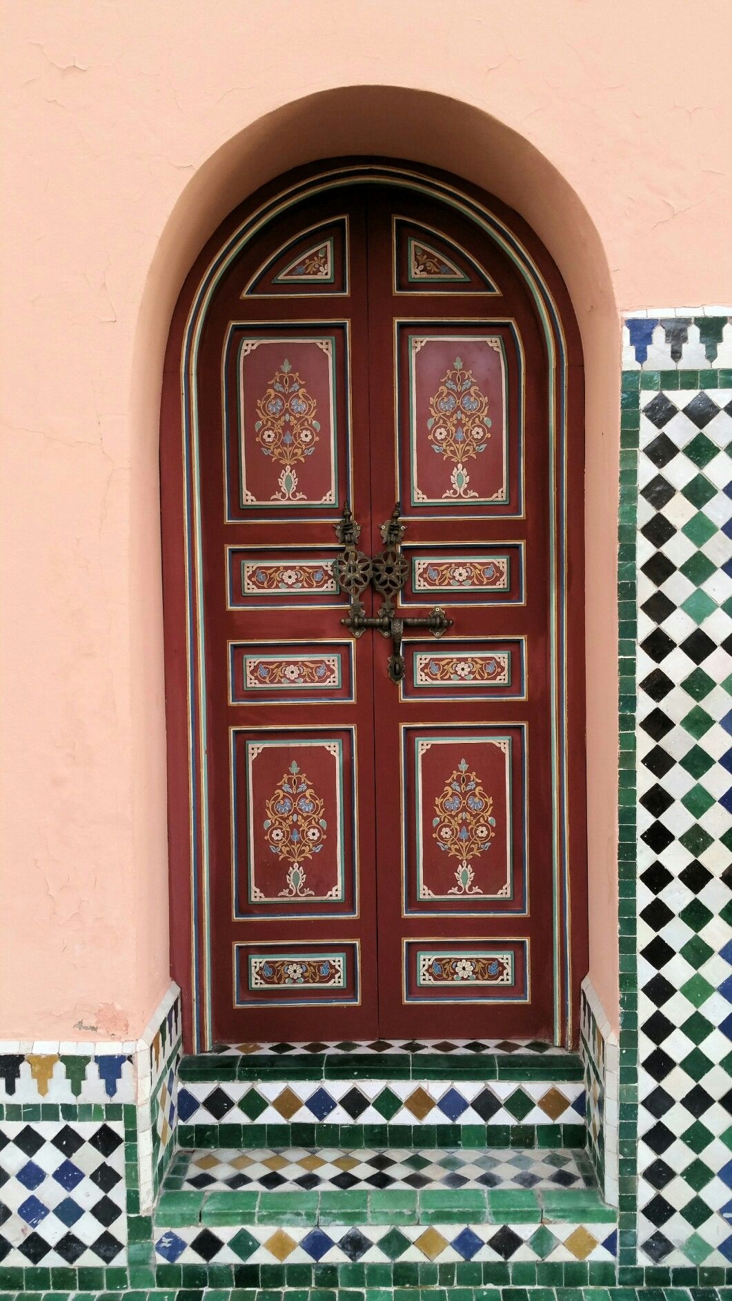 Painted Door, Marrakech