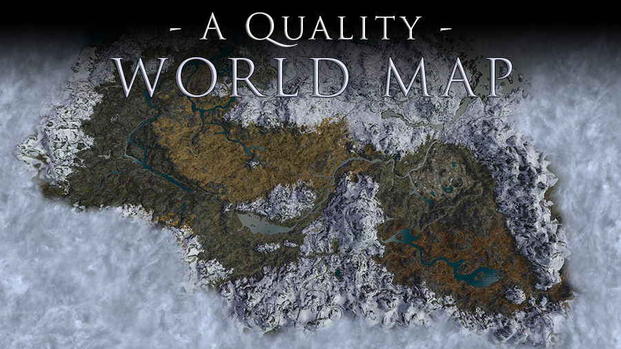 A Quality World Map And Solstheim Map - With Roads A Quality World Map and Solstheim Map   With Roads | Map, Skyrim