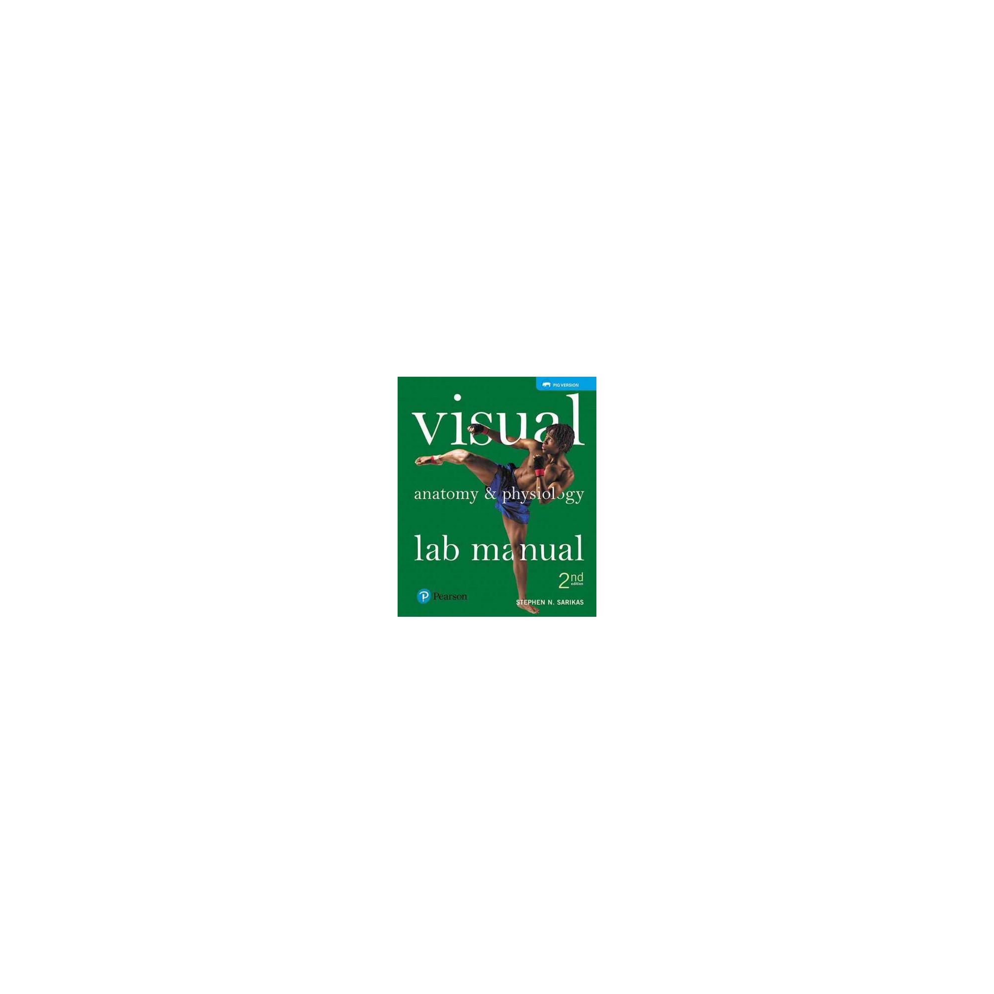 Visual Anatomy & Physiology : Pig Version (Paperback) (Stephen N ...