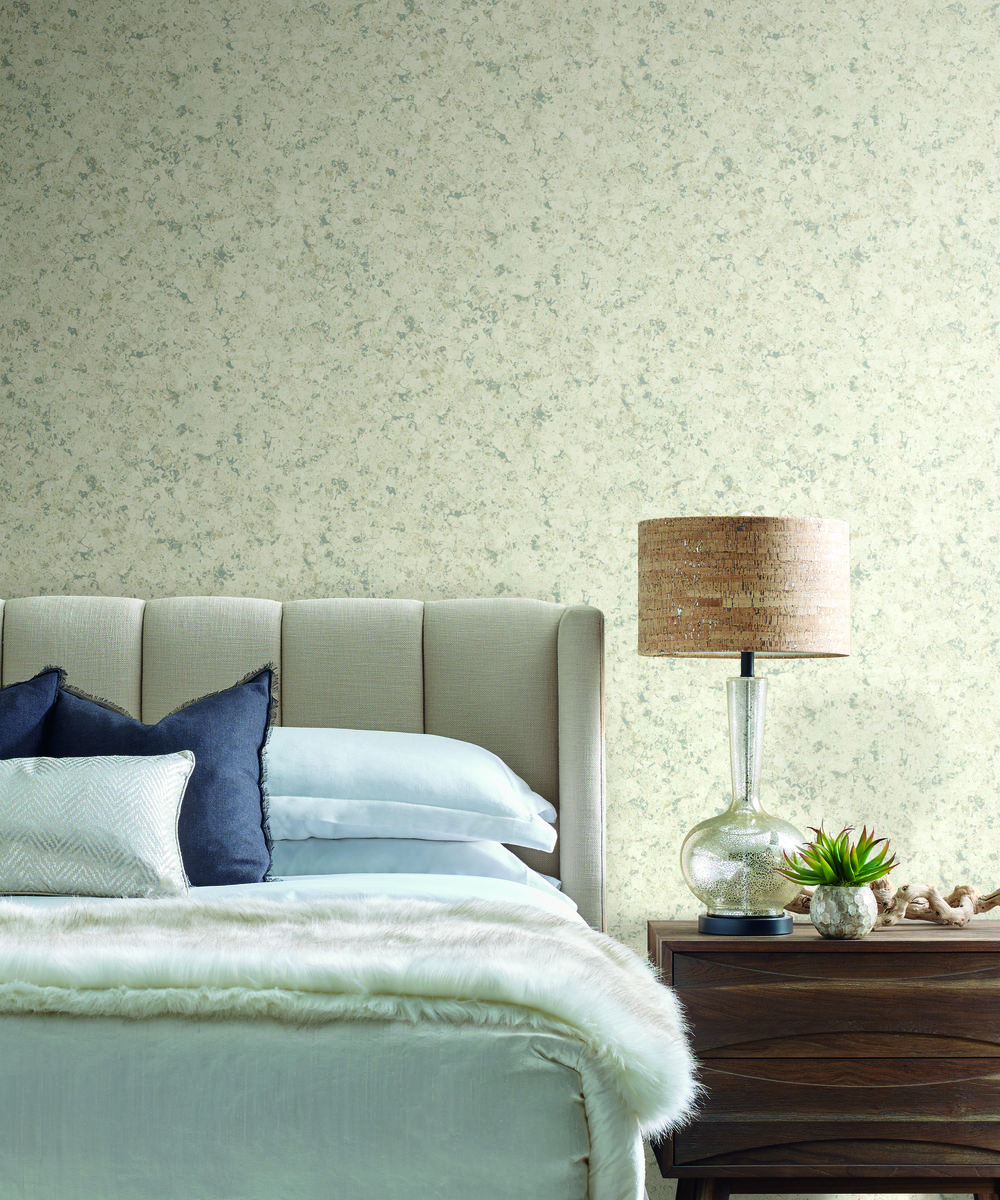 York SO2425 Candice Olson Tranquil Zen Crystals Wallpaper