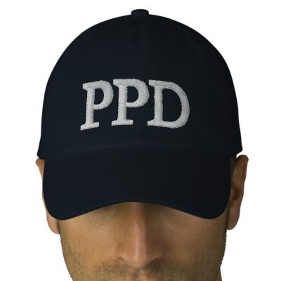 PPD Jesse Stone cap Embroidered Baseball Caps from http   www.zazzle. f3ceacfa73e5