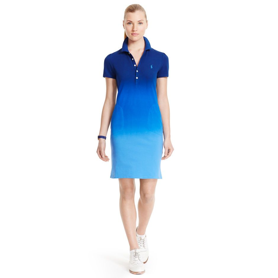 Ombr 233 Polo Dress Short Dresses Dresses Ralphlauren Com