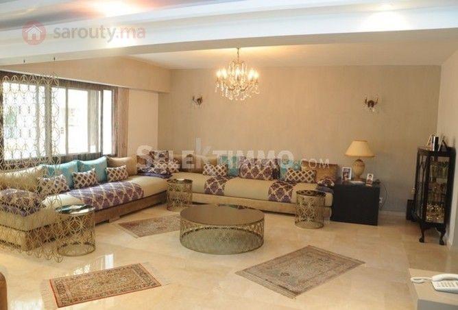 Vente appt à Racine Casablanca - ref RVA0680 | sarouty.ma | salon ...
