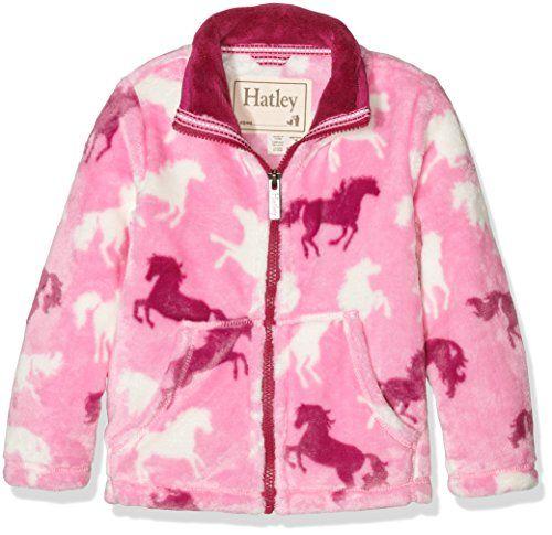 Hatley Girls Fuzzy Fleece Jackets