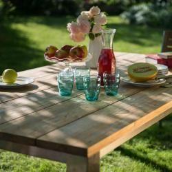 Edelstahl Gartentische Diamond Garden Piero Tisch 160 100 Cm
