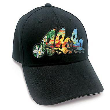 Hawaiian State Aloha Baseball Cap Hat By Eddy Y  2cb4d9555209