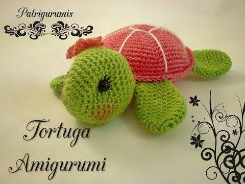 DIY TORTUGUITA amigurumi en ganchillo - Crochet - YouTube ...