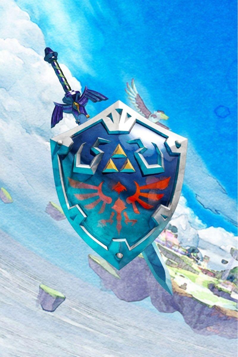 Zelda iPhone Wall Arte de videojuegos, Personajes de