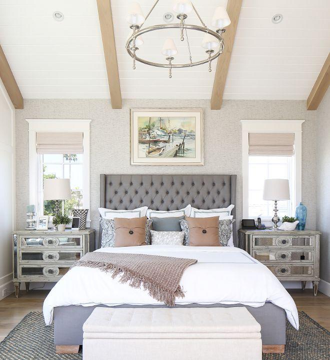 California Beach House with Modern Coastal Interiors Bedrooms
