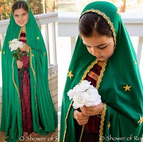 Disfraz De Virgen Maria Casero Para Navidad 2013 Disfraz De