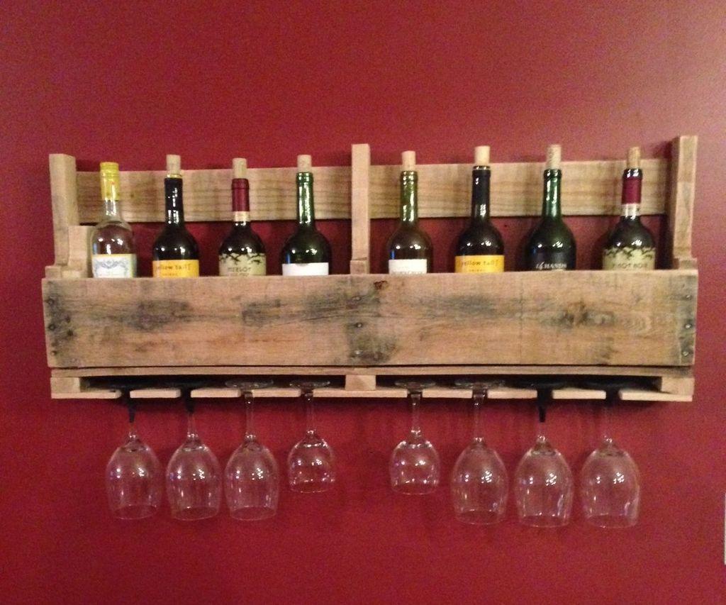 Free Diy Pallet Wine Rack In 2020 Diy Wine Rack Pallet Wine Pallet Wine Rack