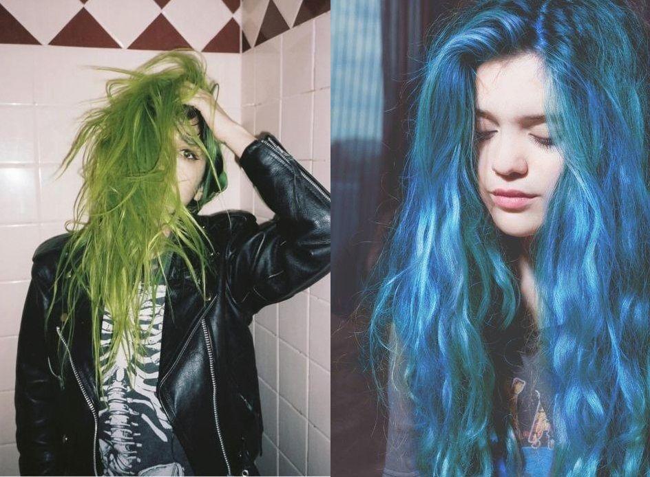 cabello verde azulado - Buscar con Google