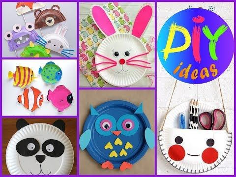 Easy And Fan Paper Plate Crafts For Kids 50 Diy Kids Crafts Ideas