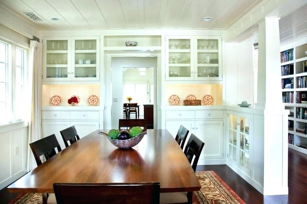 Built In Dining Room Cabinets Other Storage Bui Craftsman Dining Room Traditional Dining Rooms Dining Room Cabinet