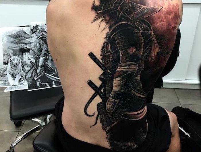Tatouage Samourai Le Tattoo Des Guerriers Tatouages Pinterest