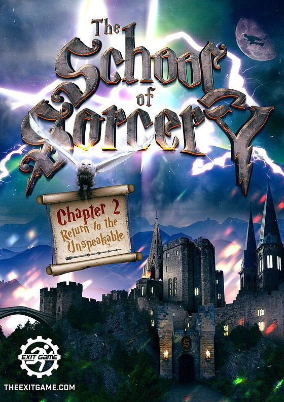 School of Sorcery Exit Game Harry Potter Escape Room