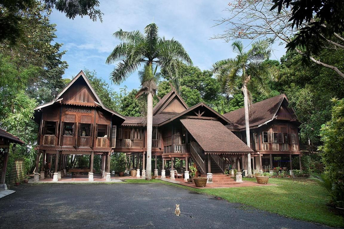 Malay kampung house lankawi chef shukri 39 s house thai for Architecture design company in malaysia