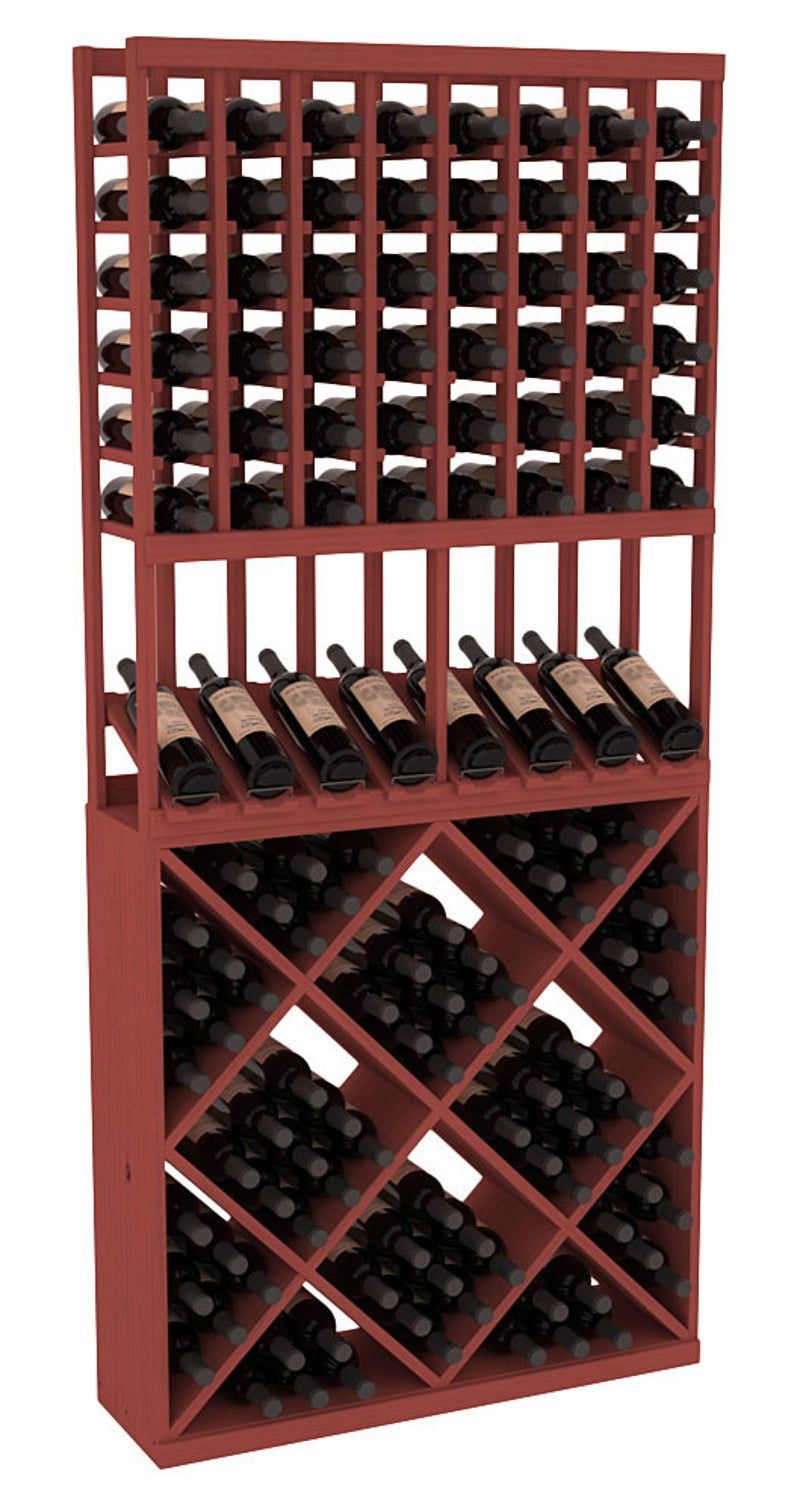 138 Bottle High Reveal Wine Storage Rack Kit Combo 1 In Pine Etsy In 2020 Wine Rack Storage Wine Rack Wine Storage