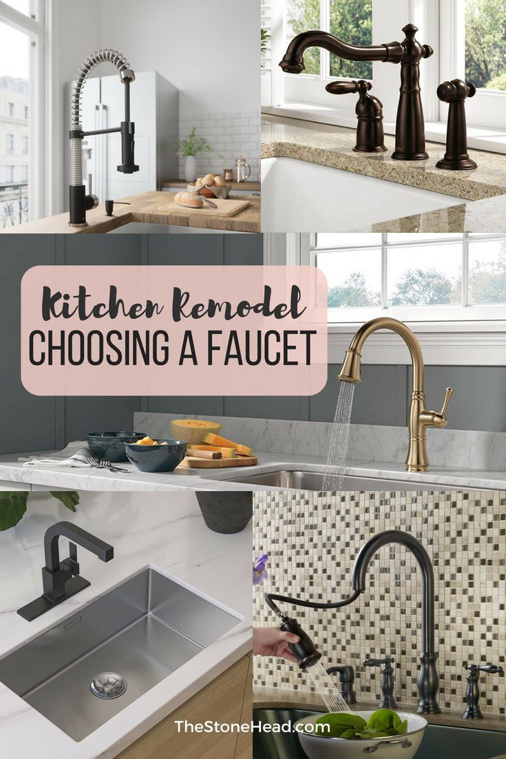 The kitchen faucet who knew it was so difficult to choose top
