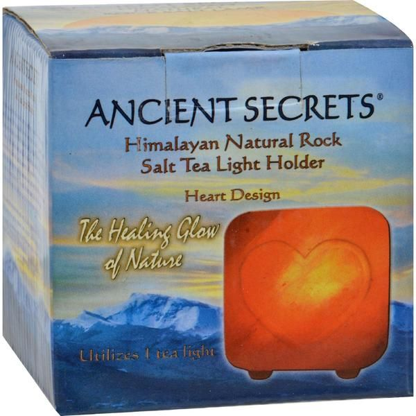 Ancient Secrets Himalayan Natural Rock Salt Tea Light Holders are hand carved salt products from the Himalaya Mountains of Pakistan. The warmth and natural beau