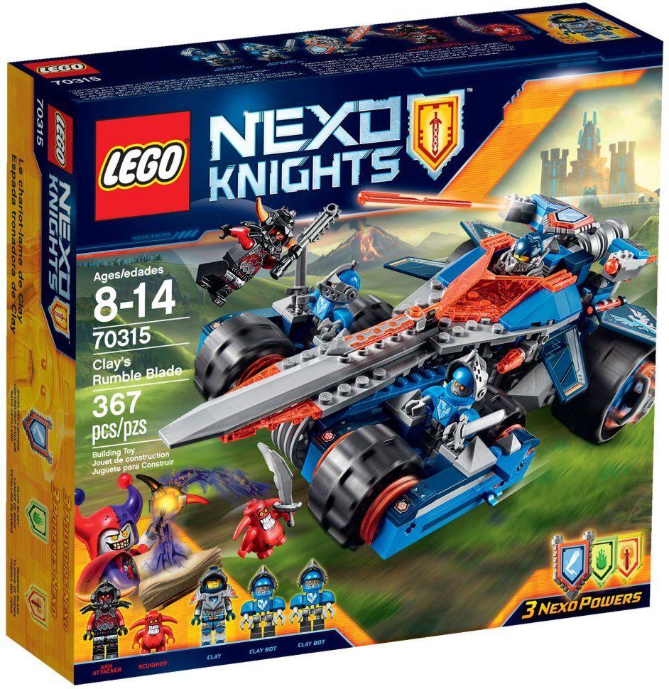 Конструктор Lego Nexo Knights 70315 Устрашающий разрушитель Клея