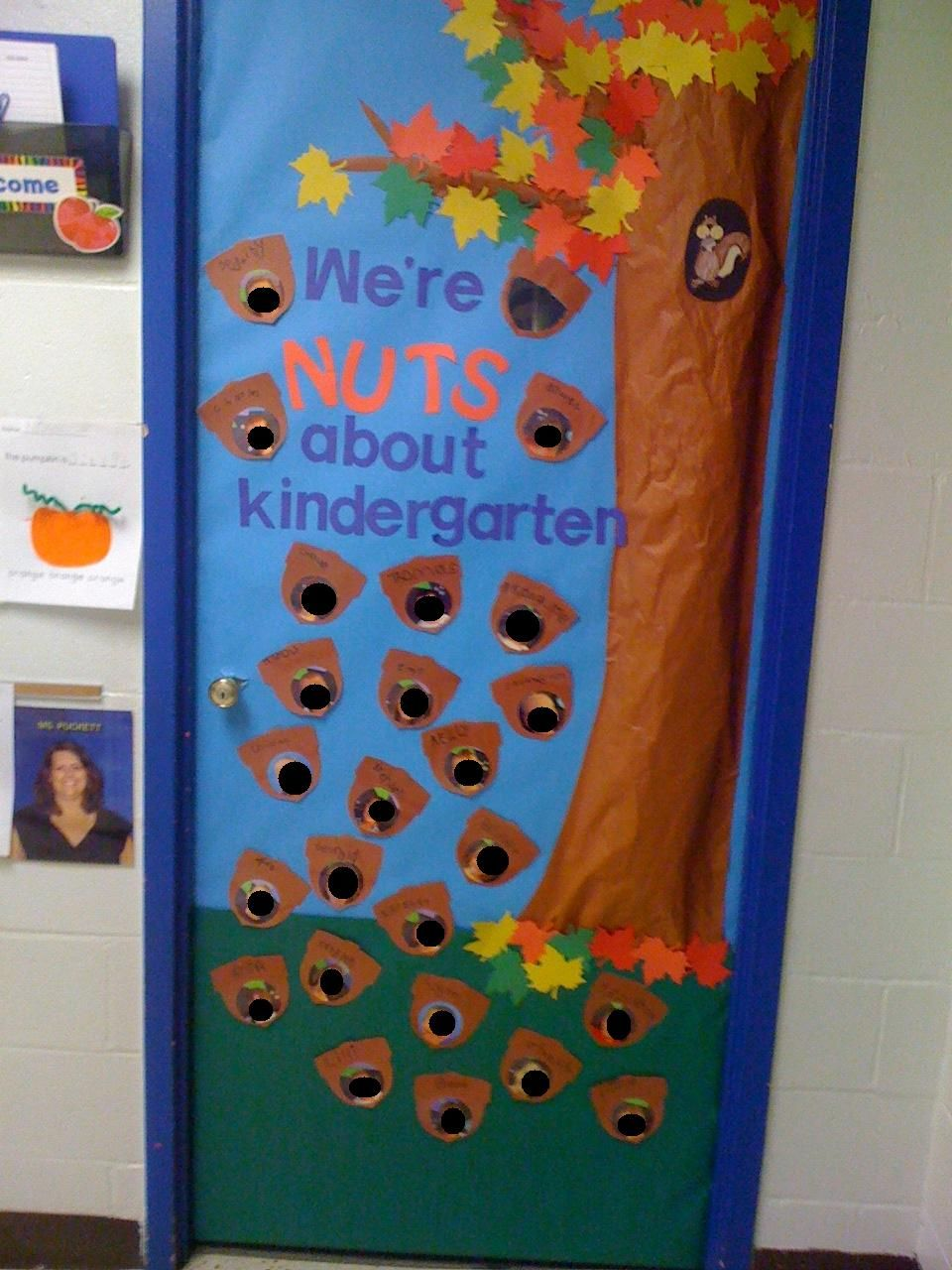 September Door Were Nuts About Kindergarten Kindergarten
