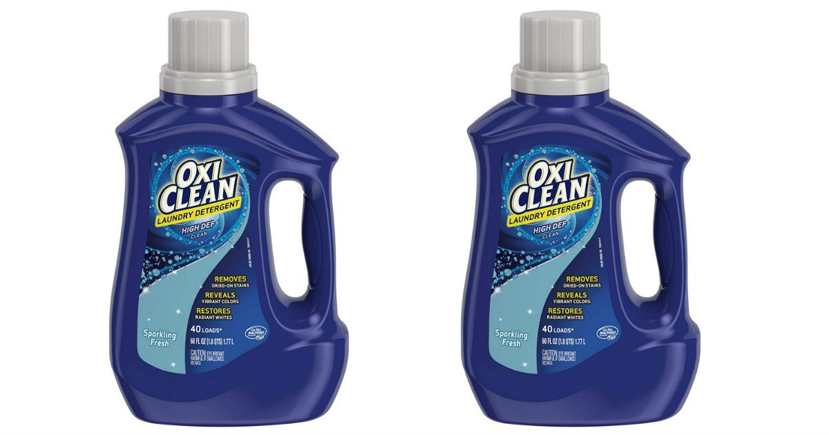 Oxiclean Laundry Detergent Only 1 99 At Cvs Save Over 6 00 This