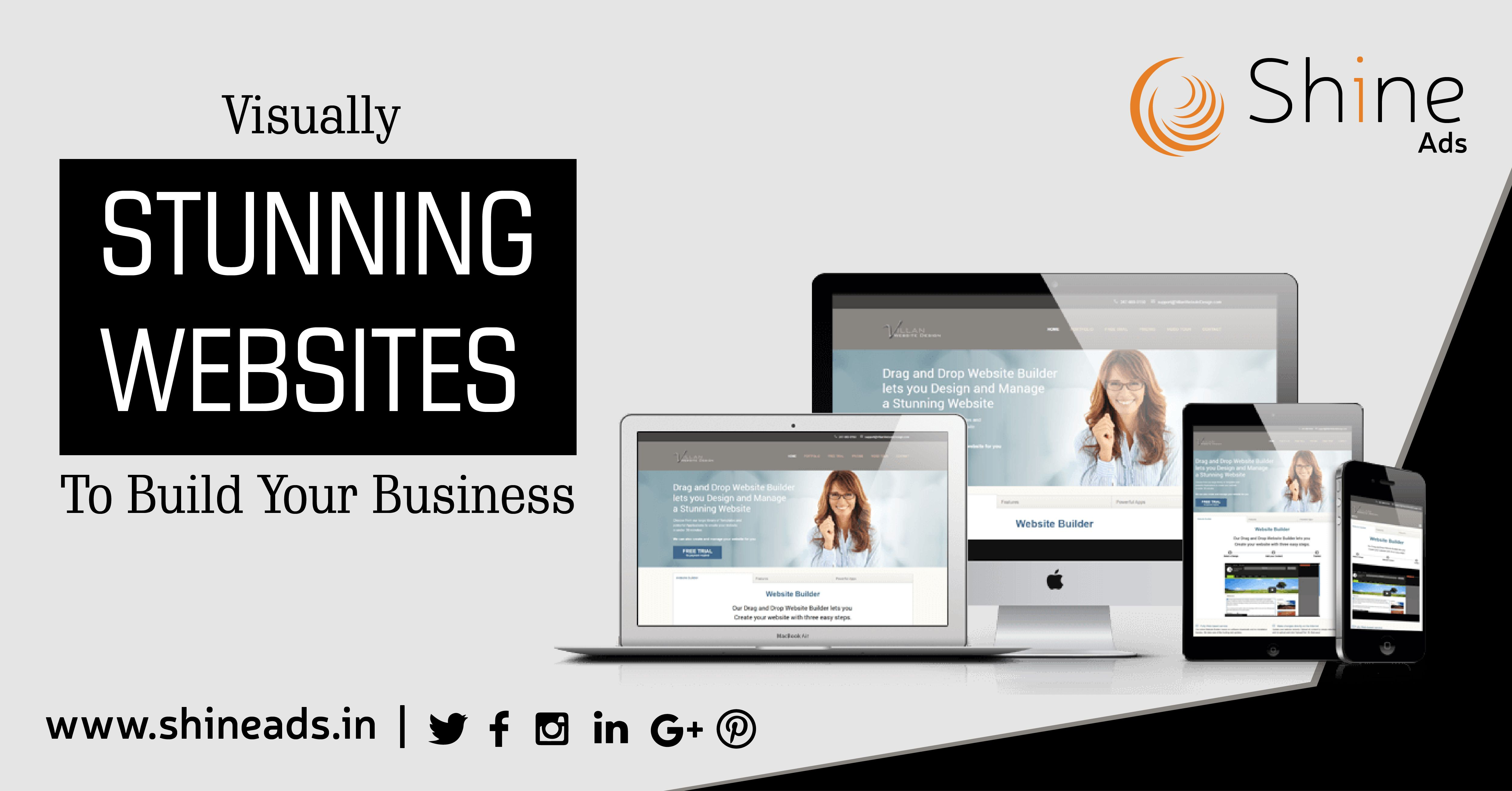 ShineAds is an Efficient, unique and highly creative web designing