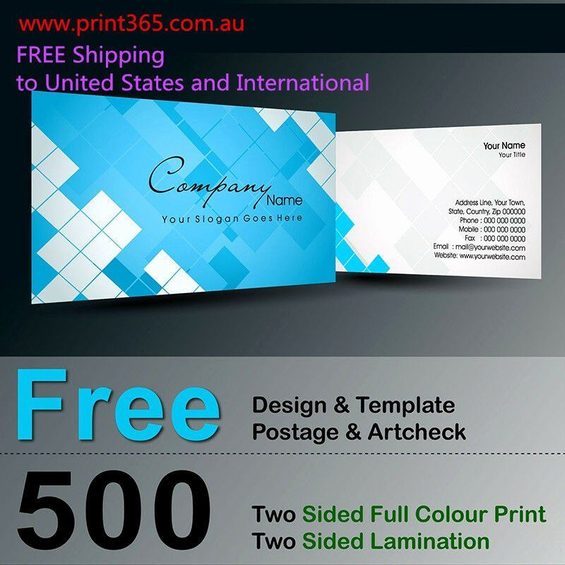 2 Sided Business Card Template New 500 Two Sided Business Card Printing 300gsm Free D Printing Business Cards Double Sided Business Cards Business Card Wording