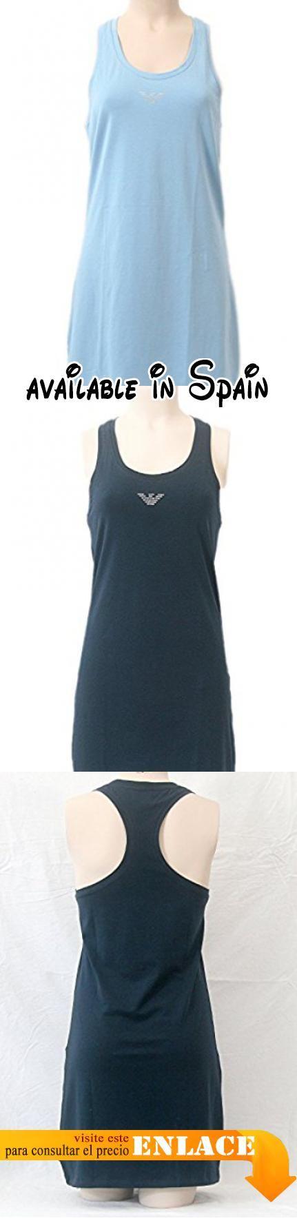 B072PSTCD7 : Emporio Armani - Camisón - para mujer Dusk Blue (13931) Small. #Ropa #SLEEPWEAR