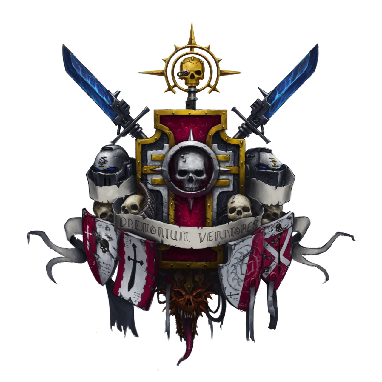 Grey Knights Coat Of Arms By Eupackardia On DeviantArt