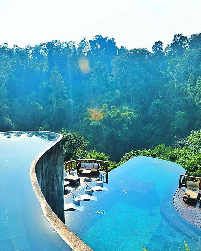 Operation FitBuzzer weekend destination... #hanginggardens #ubud #bali ☀️ Good morning #travel #vacation #holiday
