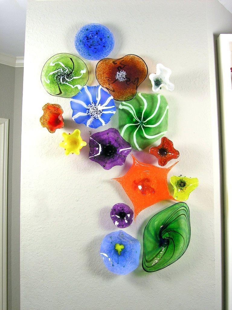 Blown Glass Wall Art Uk Wall Arts Wall Glass Art Easy As Metal Wall Art On 3d Wall Art With Regard Blown Glass Wall Art Fused Glass Wall Art Wall Sculpture