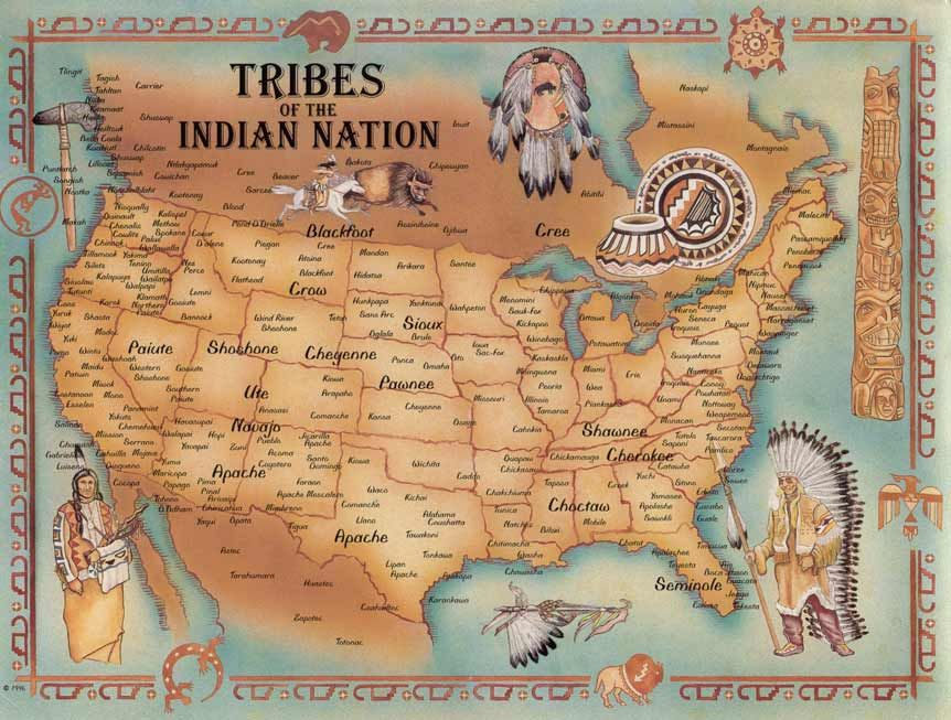 Tribes of the Indian Nation I have two very large maps ... on map of european countries 1800, map of railroads 1800, map of states 1800, map of california 1800, map of washington 1800, map of ranchers 1800, map of guam 1800,