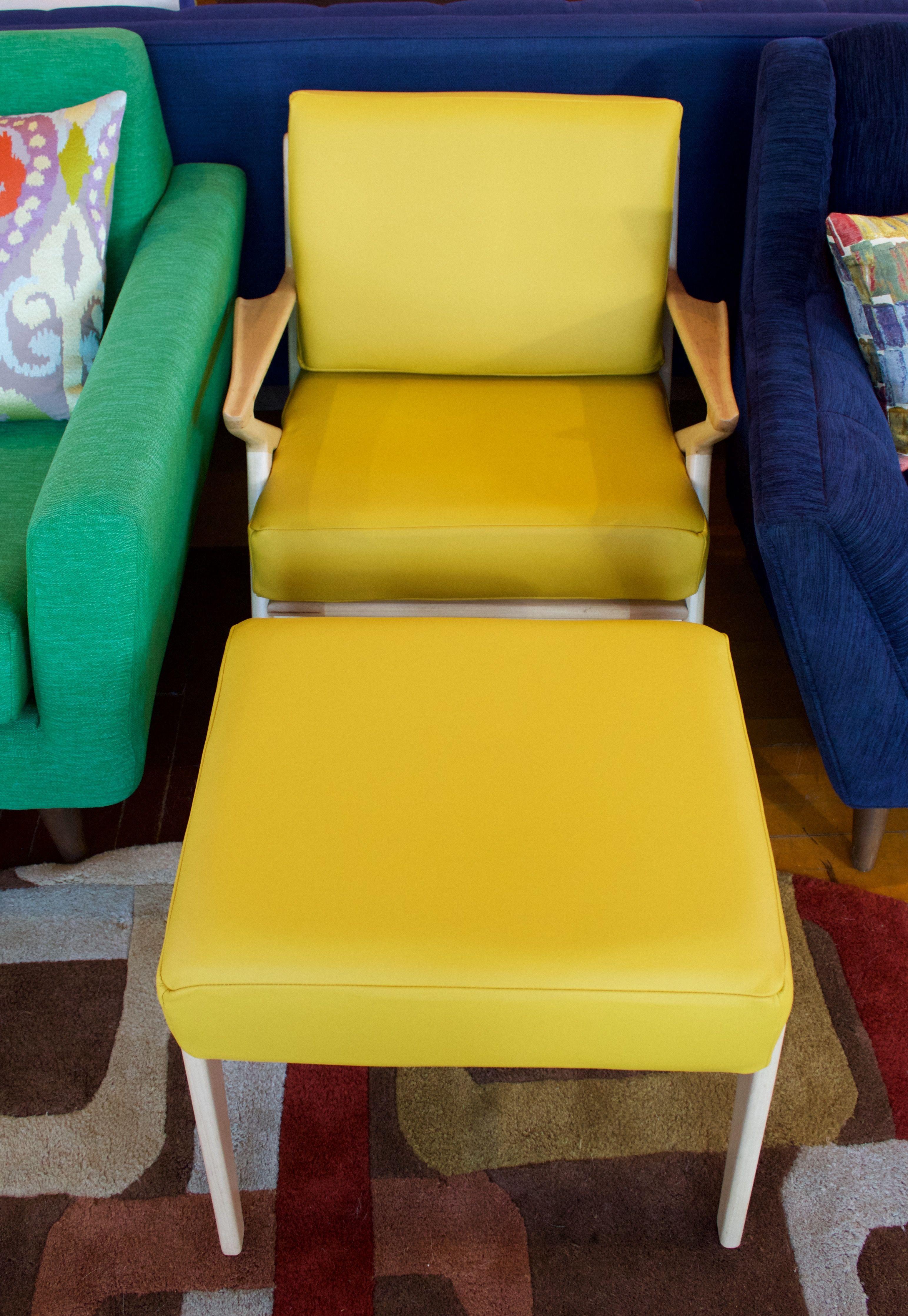 Prime Soto Concave Leather Chair In Brighton Lemon Grass Maple Inzonedesignstudio Interior Chair Design Inzonedesignstudiocom