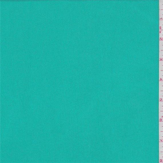 Aqua Green Rayon Jersey Knit, Fabric By The Yard